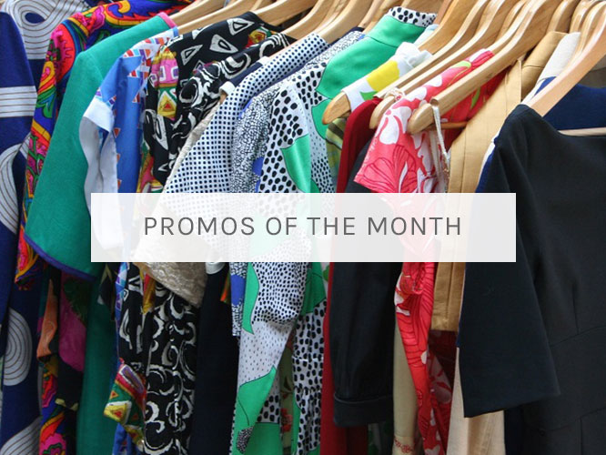 Promos of the Month